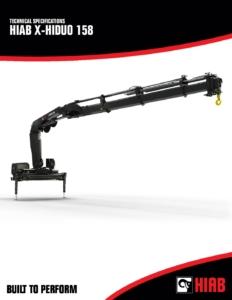 Loader Crane Data Sheets - Industrial Gas Models cover