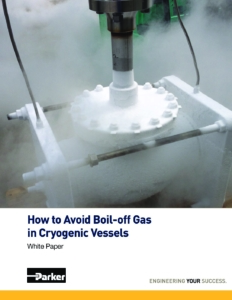 White Paper Boil-off gas cover