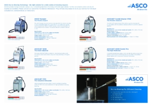 Overview ASCO Dry Ice Blasting cover