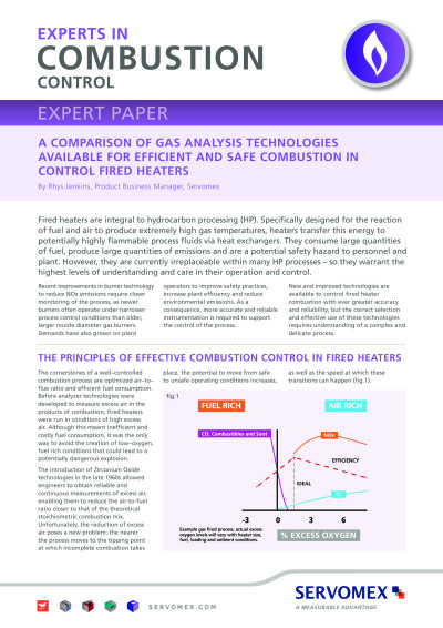 Servomex-Experts-in-Combustion cover