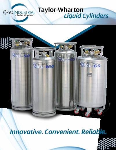 TW-CryoIndustrial-Literature Liquid-Cylinder-Brochure cover