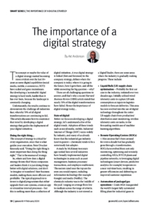 60 Smart Series Article 2 Importance of Digital strategy Jan2020 cover