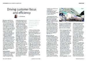 63 Business Series Driving Customer Focus and Efficiency cover