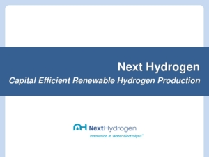 Capital Efficient Renewable Hydrogen Plant Design cover